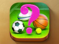 iOS Sport Trivia Quiz App Icon