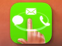 iOS Quick Launcher App Icon