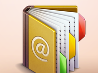 Mac OSX Contact Manager Icon