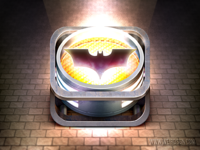 Batsignal big by weirdsgn