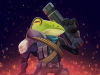 Frog Character Animated Avatar