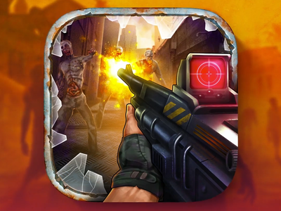 iOS Zombie Game Icon