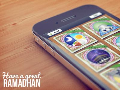 Islamic App UI ui user interface islam moslem islamic ios illustration kaaba weird