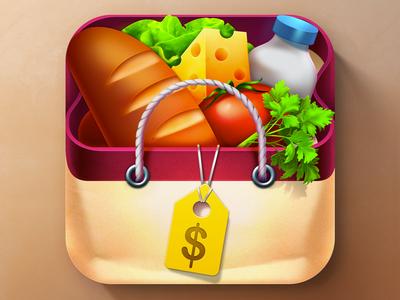 iOS Shopping List App Icon