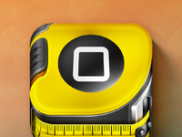 Ios ruler icon