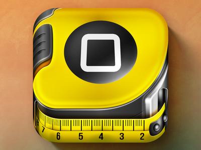 iOS Ruler App Icon