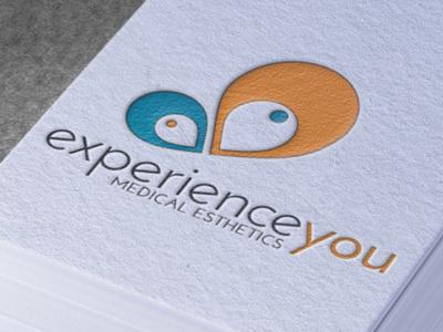 Experienceyou Branding logo butterfly esthetics
