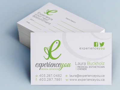 Experienceyou The Business Card business card design print