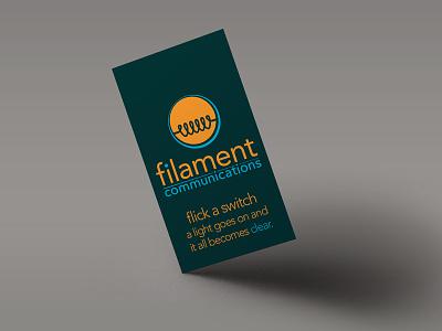 Filament Rebrand.. flat? logo branding lightbulb