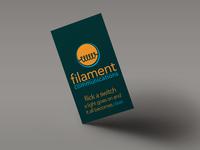 Filament Rebrand.. flat?
