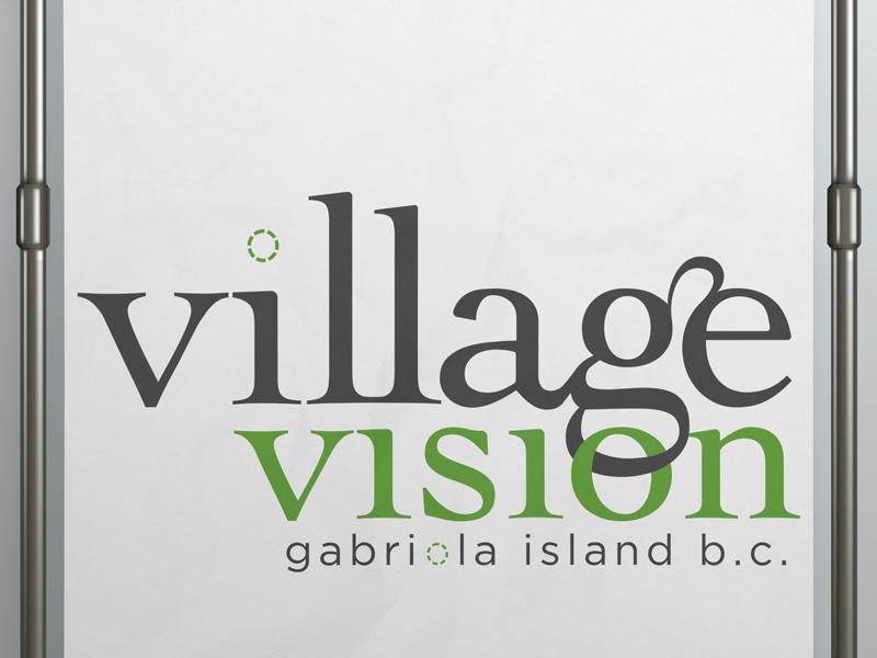 Village Vision logo branding