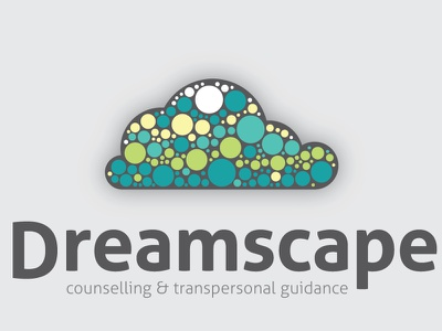 Dreamscape Counselling logo branding counselling cloud