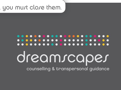 Dreamscapes Braille branding logo