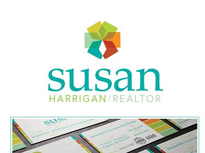 Susan Brand realtor logo branding