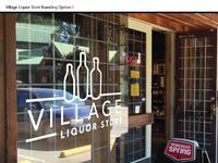 Village liquor store 1 present
