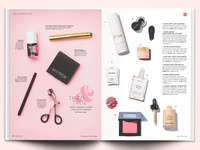 Magazine Spread layout design editorial design photography design