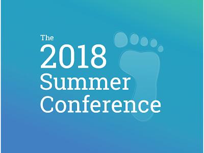 Summer Conference Logo conference illustration logo summer branding