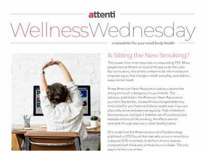 Attenti Newsletter brand typogaphy editorial layout design news design
