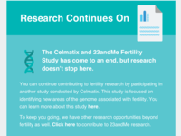 23andMe Email Design