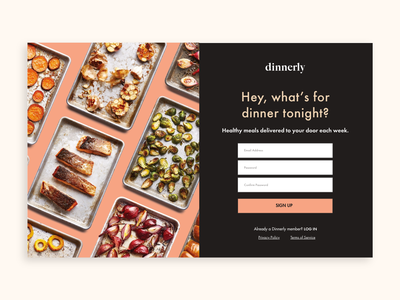 Daily UI Challenge - 001 - Sign Up