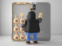iphoneX safe