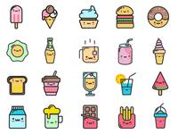 Delicious Foods Icon