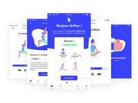Kinéo - Exercise part UX UI