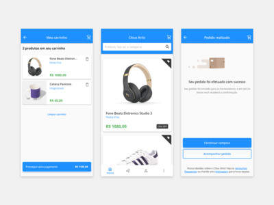 Market Place - UI Design