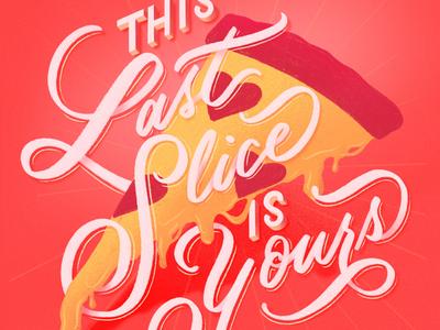 Pizza love hand lettering lettering love pizza