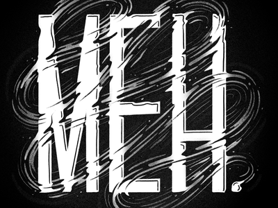 Monday Mood typography lettering hand lettering monday mood monday