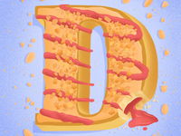 36 days of sweet type — D
