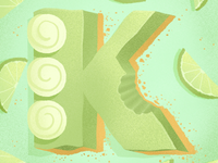 36 days of sweet type — K