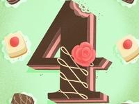 36 days of sweet type — 4
