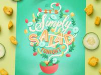 Simply Salad Tonight