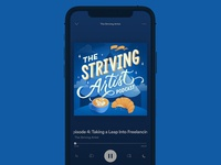 The Striving Artist Podcast Cover