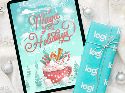 The magic of the holidays for Logitech