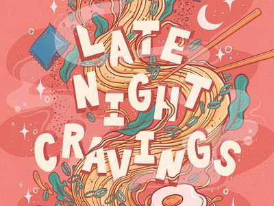 Late Night Ramen Cravings (closeup)