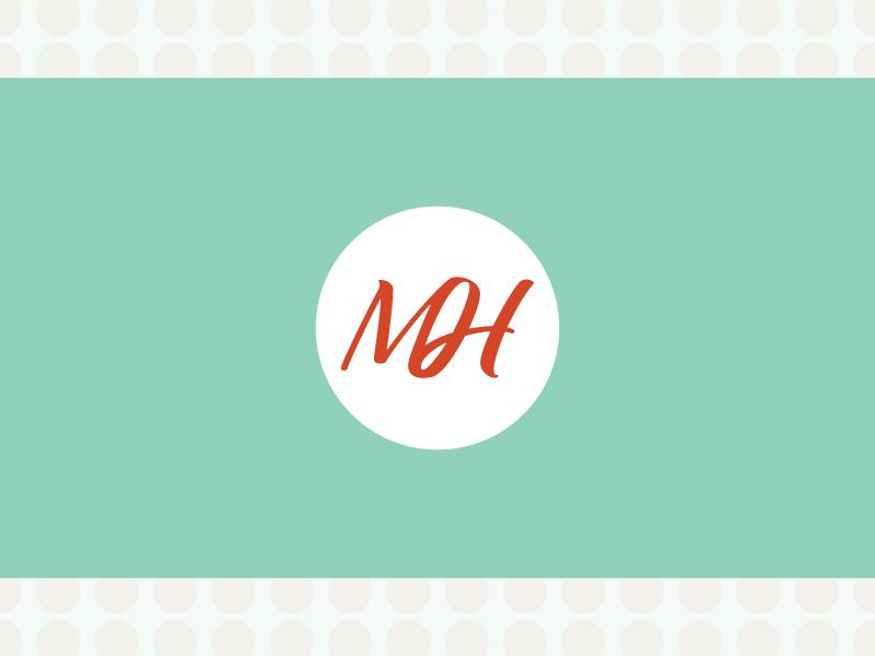 MH Monogram monogram h m