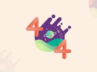 404 Website Error Page