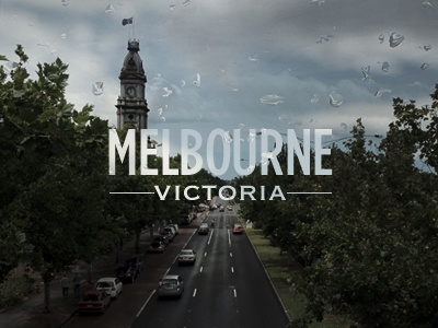 Melbourne melbourne photography typography
