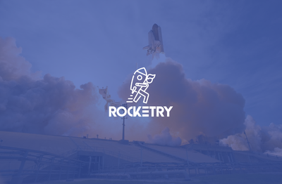 Rocketry (Space academy) logo