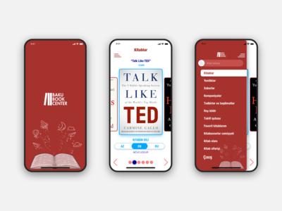 Baku Book Center online bookstore App(Offer)