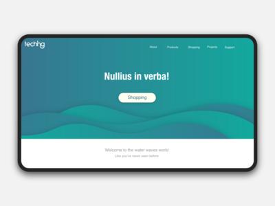 Teching Landing page