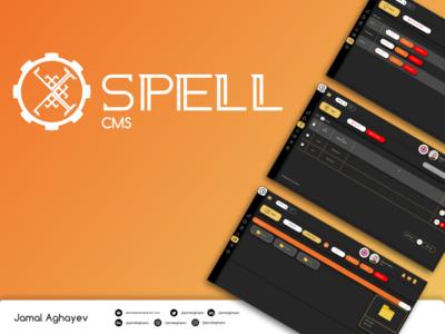 SPELL CMS UI Design