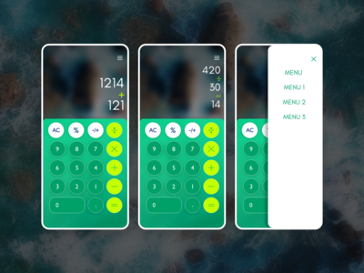Calculator App #DailyUI #DailyUI004