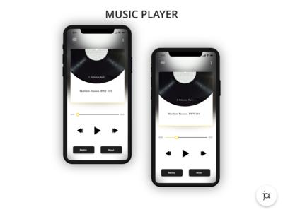 Music Player #DailyUI #DailyUI009