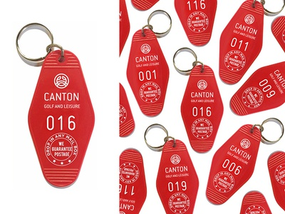 Canton Key Tag