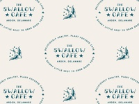 Swallow Cafe Badge & Logo