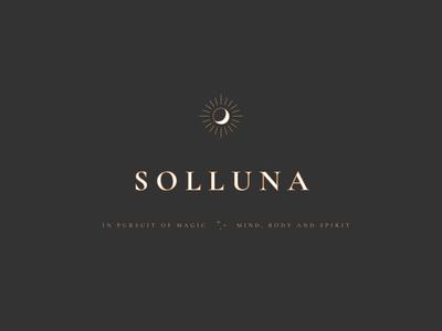 Solluna Oracle Card Logo