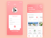 Wedding Services Marketplace iOS | #exploration